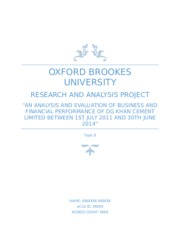 oxford brookes research and analysis project Acca, oxford brookes september 15, 2000 the research and analysis project is the culmination of a process of discussion and development that started well.