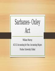 Sarbanes- Oxley Act.pptx