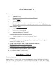 Process Analysis Chapter Qs.docx