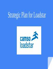 Loadstar - Strategic Plan # 1