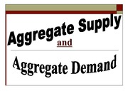 Aggregate Supply&Demand Lecture Slides