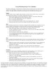 Marketing Project II Guidelines.pdf