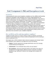 Unit 9 Assignment 1 PKI and Encryption at work
