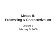 BioEng 498 lecture 6