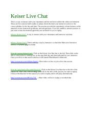 How to Access and Replay a Keiser Live Chat session(3)