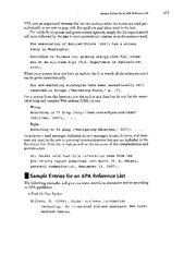 APA Citation Reference Guide Finance