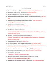 The Stamp Act questions.docx
