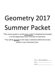 Geometry 2017 Summer Packet.pdf