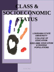 CHAPTER_3_POWERPOINT socioeconomic statuses