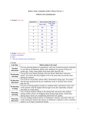 S15 Practical exam 1 KEY