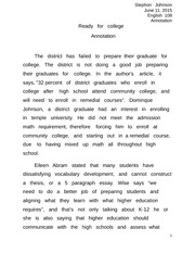 in praise of the f word essay stephon johnson english mid  2 pages ready for college annotation edited