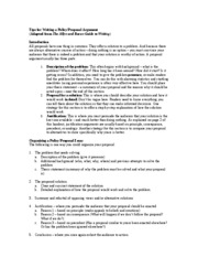 Proposal writing companies dc
