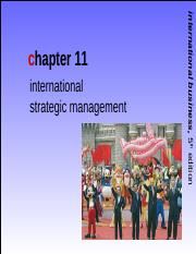 Int'l Business Griffin CH 11 SEM SEPT 2013
