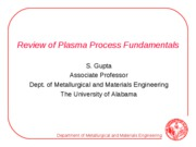 1_Plasma Process Fundamentals