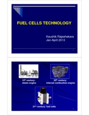 5 - Fuel Cell Technologies