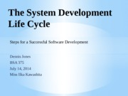 bsa 375 software development presentation