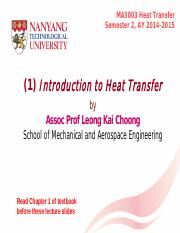 (1) Introduction to Heat Transfer S2 2014-2015.pdf