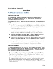 psy 265 appendix b Appendix a final project overview and timeline  psy 265 title: western international university material author: university of phoenix online last modified by.