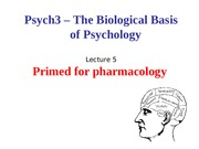 Lecture 5-Pharmacology