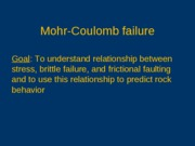 Mohr-Coulomb-failure