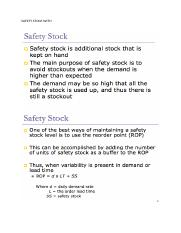 SAFETY STOCK WITH.docx
