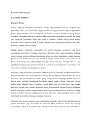 galvor company case solution