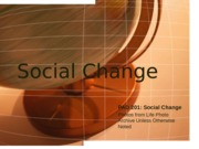 Social Change Power Point(1)