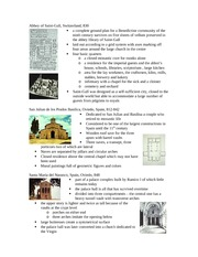 Lecture 4 notes - Early Chrisitan Imagery