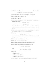 Exam A on Abstract Algebra
