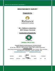 Final Report of ERGONOMICS for Reliance Industries, Kanpur.pdf