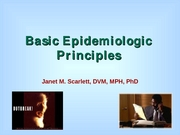 Lecture 9 Epidemiology_II