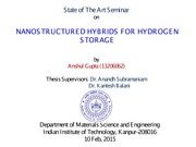 SOTA Anshul Gupta Nanostructured Hybrids for Hydrogen Storage 10 Feb 2015-_Mod1