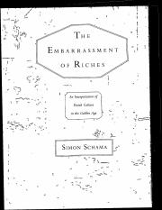 Schama, Embarassment of Riches, Intro & Ch 1.pdf