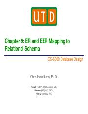 CS-6360_ch09 ER and EER Mapping.pdf