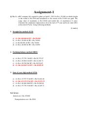 Assignment-1 - full solution.pdf