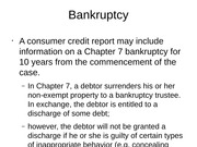5 - Bankruptcy and Review