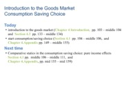 F2012 Goods Market Introduction
