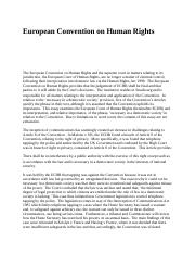 European Convention on Human Rights.docx