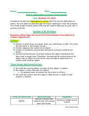 Unit 3 Application of Forces Study Guide Student Version.docx