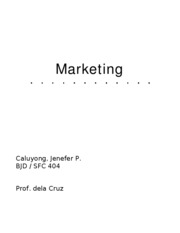 Marketing-product