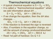 thermochemical-equations-answers
