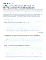 PSYCHOLOGY summative assessment task2 full question list 2015 ANSWERS.docx