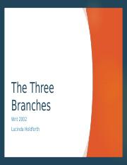 WRIT2002 - The Three Branches_V2.ppt
