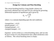 A12_Design_for_buckling-columns_and_plates