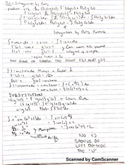 Chapter 7, Section 1 Class Notes: Integration by Parts