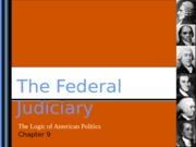 Lecture 6: The Federal Judiciary