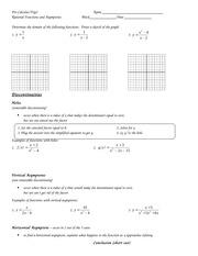 worksheet rational functions 1 answers algebraz trig name l. Black Bedroom Furniture Sets. Home Design Ideas