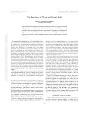 The interface of work and family life.pdf