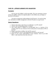 jetblue airways ipo valuation case 28 Jetblue airways ipo valuation 1 jetblue airways ipo valuation ebad ashfaque sean lin congyi liu 2 case questions 2 case questions what are the advantages and disadvantages of going public what different.
