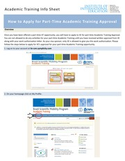 How-To-Receive-IIE-Approval-For-Part-Time-Academic-Training